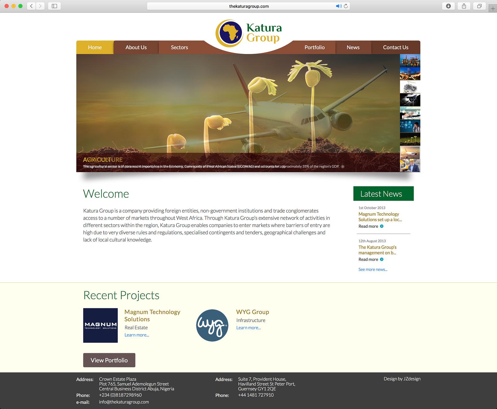 Website - Katura Group