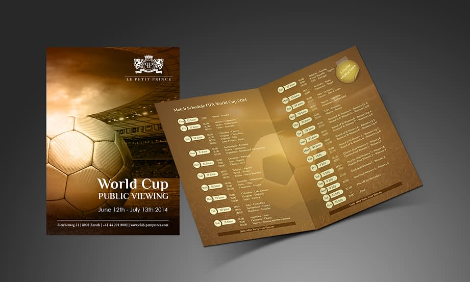 Flyer - World Cup Public Viewing