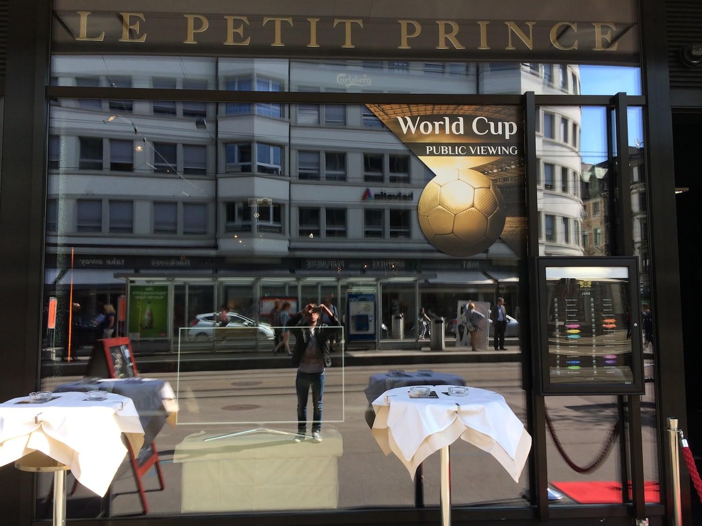 Fensterbeschriftung - World Cup Public Viewing