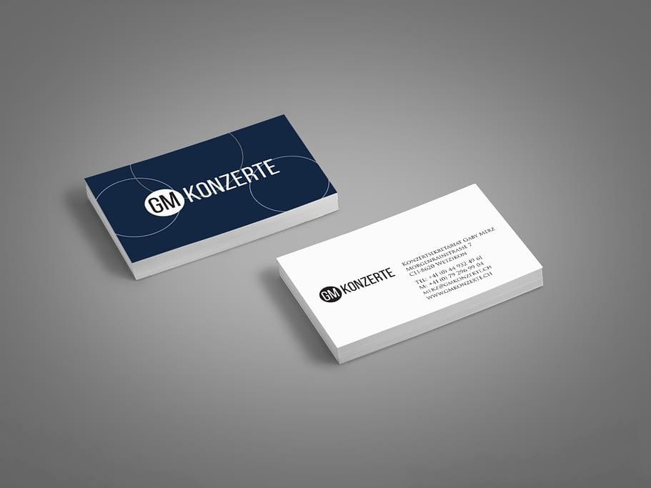 Visitenkarte - GMkonzerte