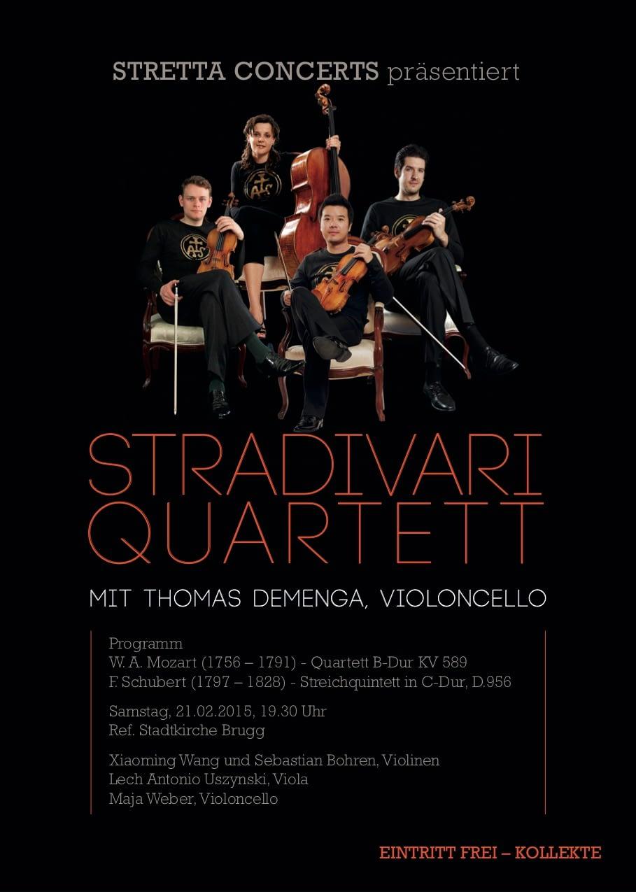 Stradivari Quartett - Stretta Concerts
