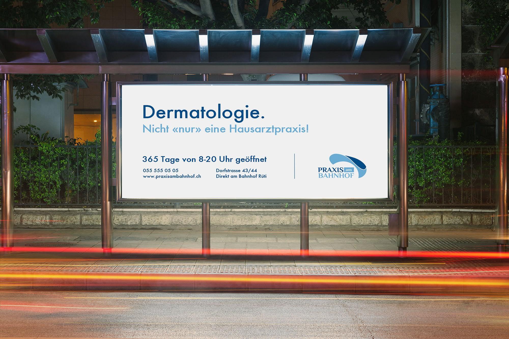 Nicht «nur » eine Hausarztpraxis! Kampagne - Praxis am Bahnhof