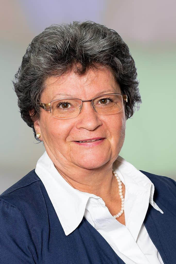 Anneliese Büchler, medizinische Praxisassistentin in der Praxis am Bahnhof Rüti