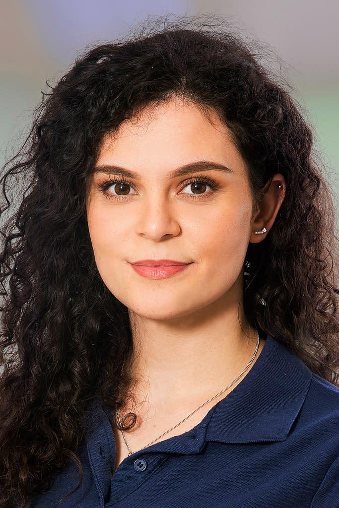 Burbuqe Pajaziti, Medizinische Praxisassistentin in der Praxis im Quartier